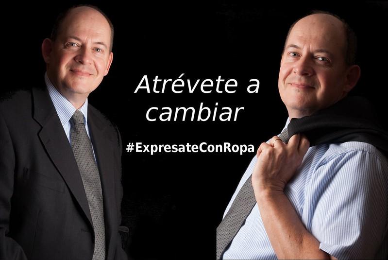 #ExpresateConRopa. Anes Ortigosa, Innovación y creatividad para ejecutivos en la ropa.