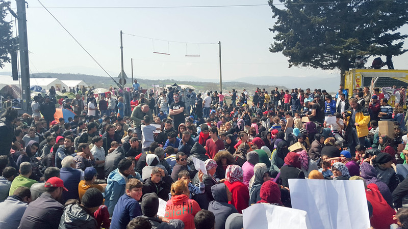 Idomeni, Greece