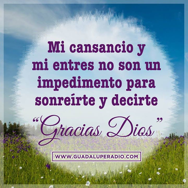 Buenas noches a todos. Dios les bendiga. Sintoniza Guadalupe Radio ...