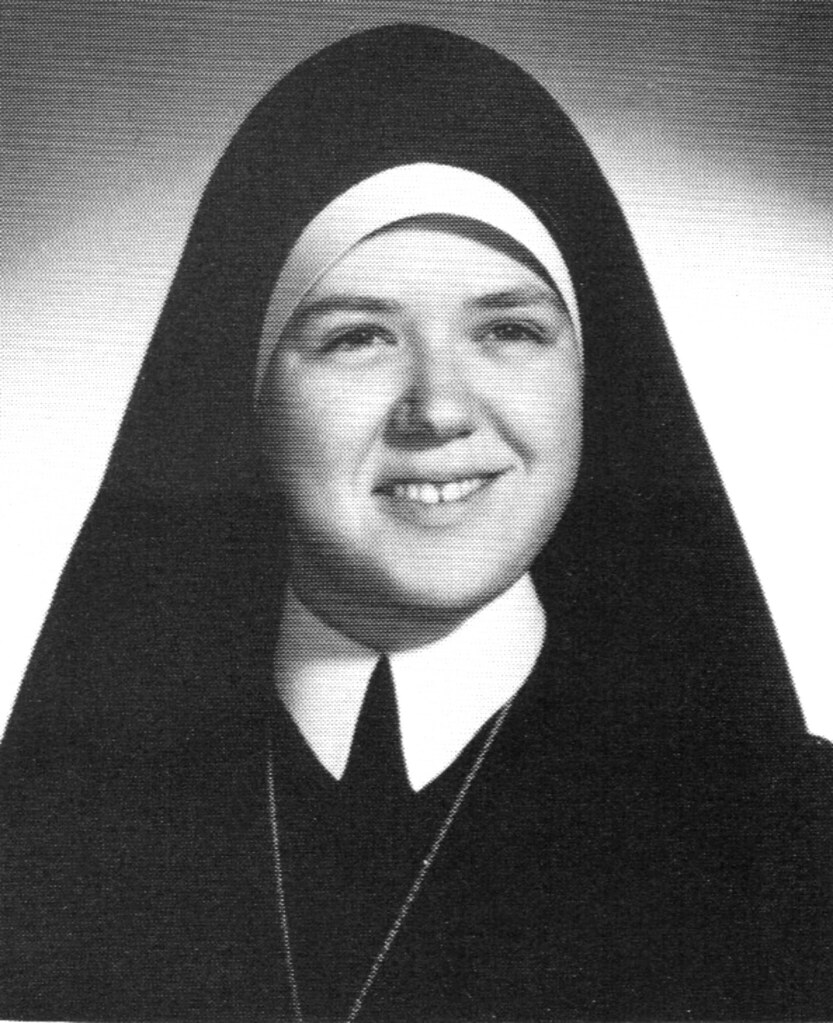 ... OSF Sr. Mary Juan at Marian College 1968 | by Patricksmercy - 15259823093_75d613be19_b