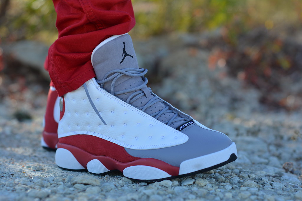 Air Jordan Grey Toe 13