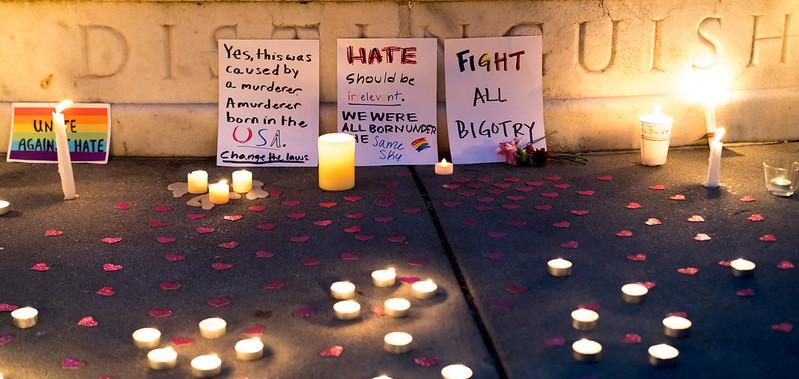 omar mateen gay victims orlando shooting vigil
