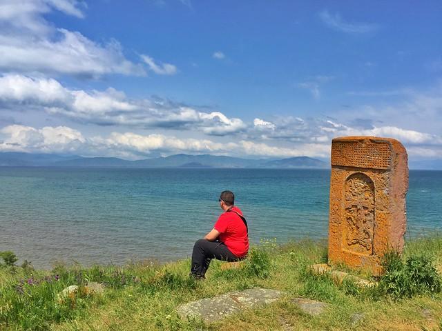 Sele en Hayravank (Lago Sevan, Armenia)