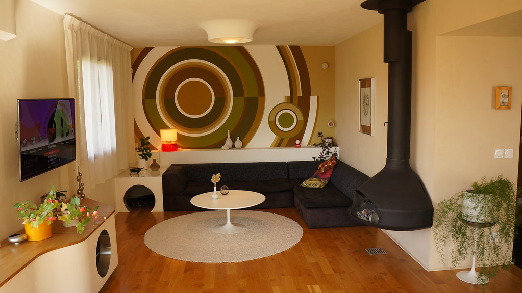 Lounge room hifi furniture made by me particle board and flickr - Plaque recouvrement mural ...