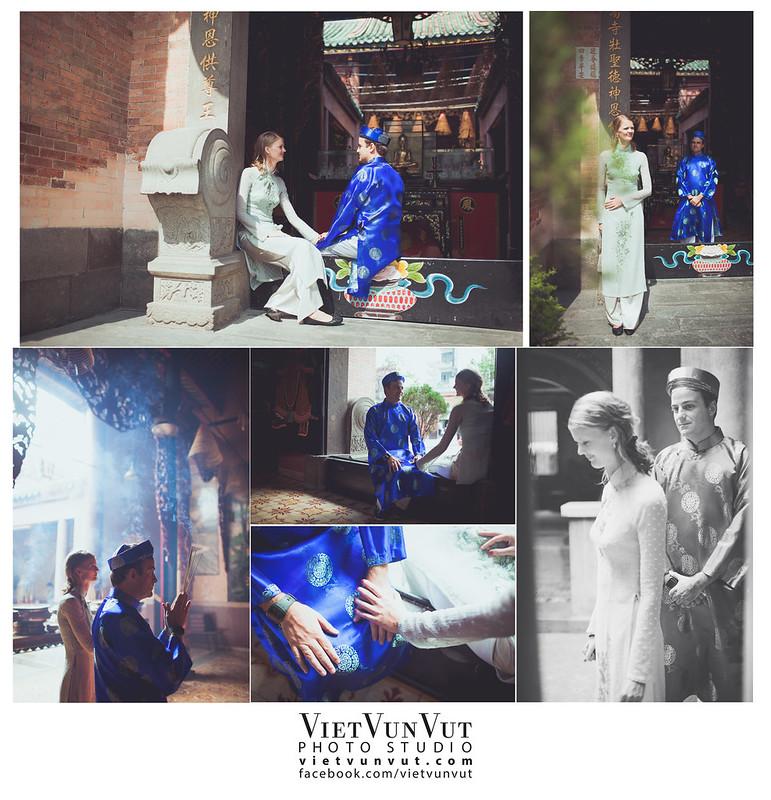 Ảnh cưới đẹp Sài Gòn - CARLOS + HELENE