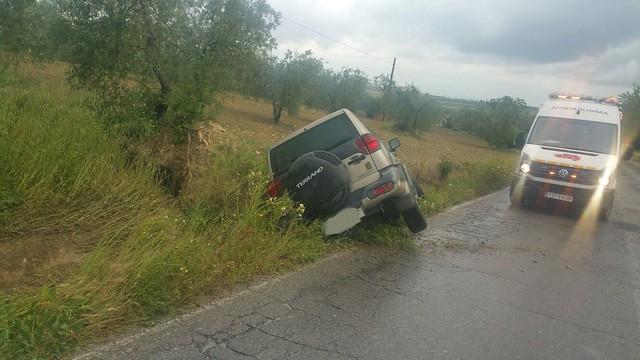 AionSur 26782711941_2e1d8958ac_z_d Un vecino de Arahal resulta herido en un nuevo accidente registrado en la carretera Arahal/Morón Sucesos