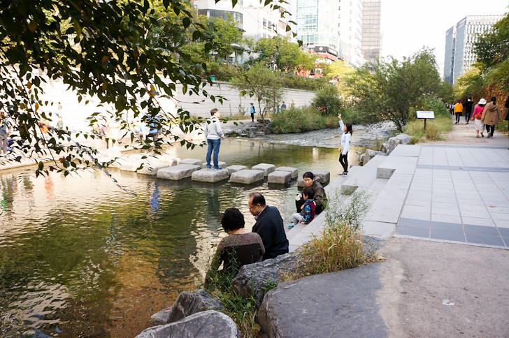 Cheonggyecheon River Restoration Project   Inhabitat   Flickr
