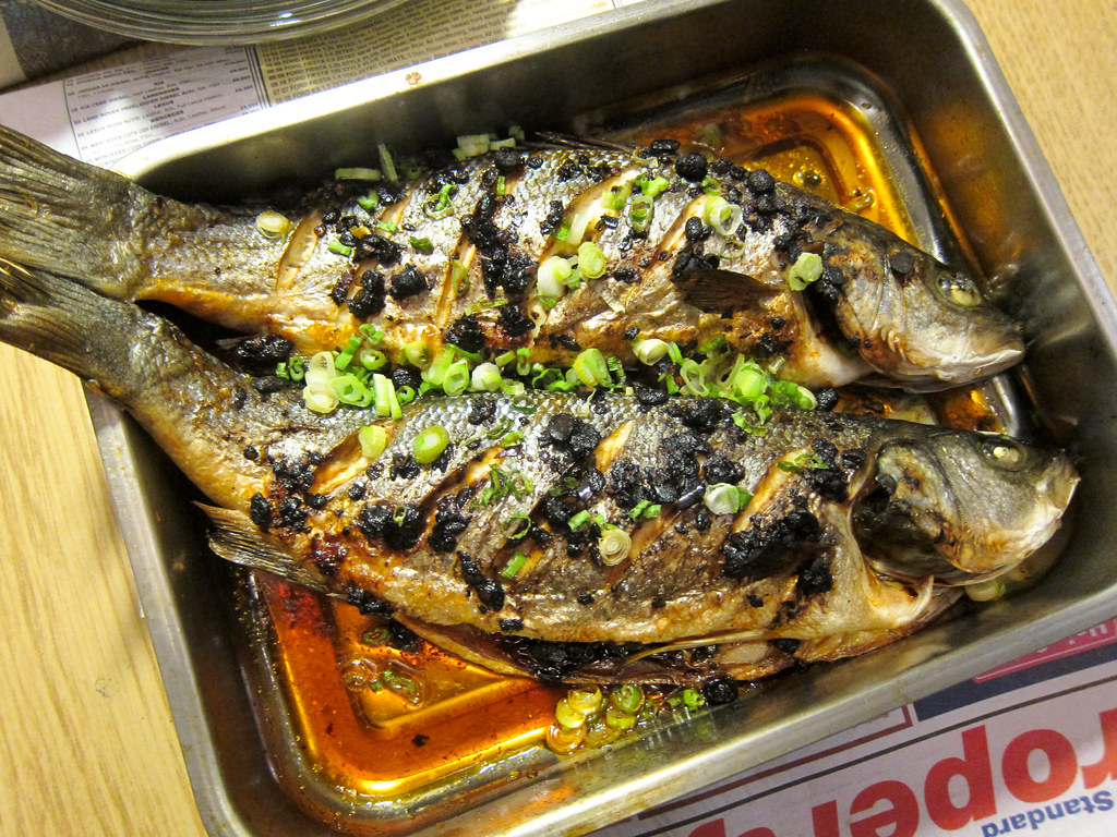 Roasted Sea Bass with Chili Oil and Black Beans | Christmas ...