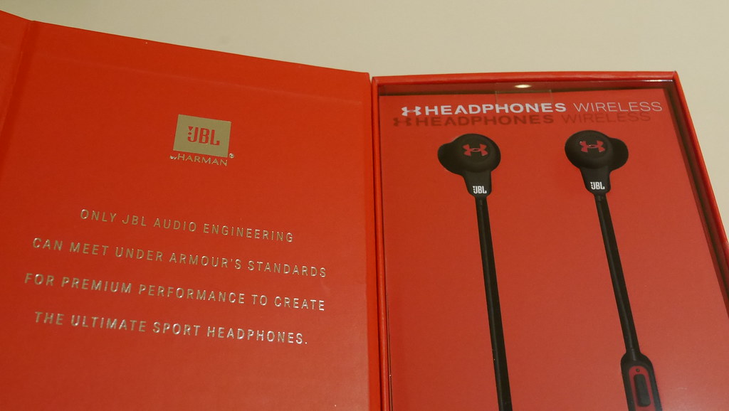 Shape up with the new UA Headphones Wireless - Engineered by JBL - Alvinology