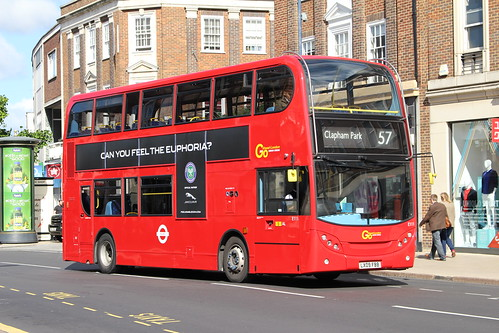 London General E111 on Route 57, Kingston