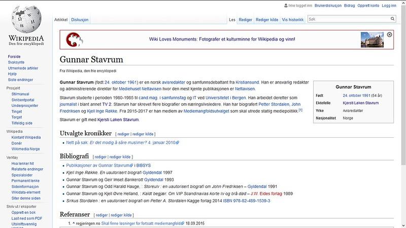 mer om gunnar stavrum wiki