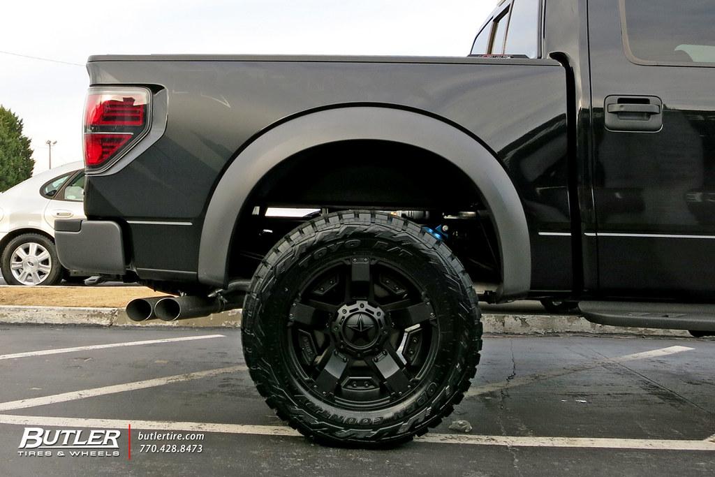 Ford Raptor With 20in Xd Rockstar Ii Wheels Additional