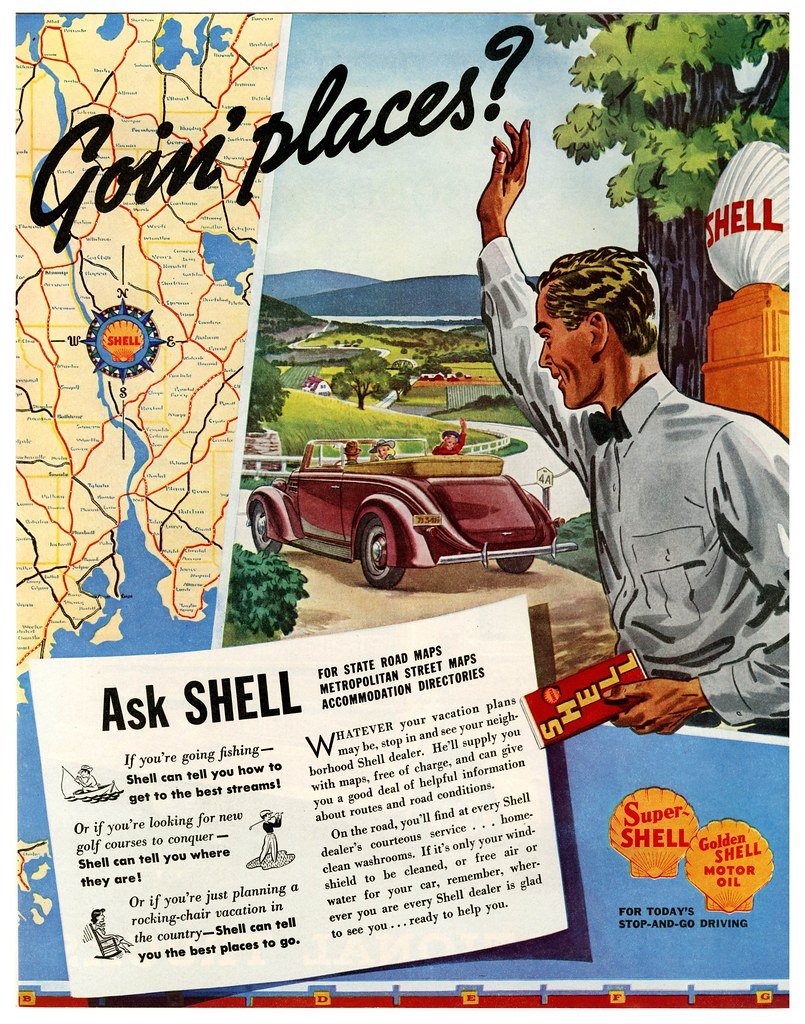 You can 39 t get there from here 1938 paul malon flickr for Pure fishing jobs
