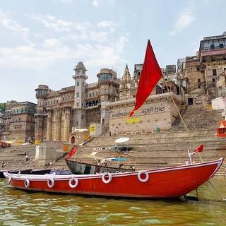 Rio Ganges em Varanasi