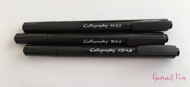 Review J. Herbin Calligraphy Markers @BureauDirect 13