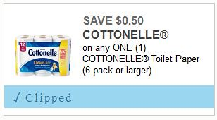 graphic relating to Cottonelle Printable Coupon known as 50 % Value Cottonelle Bathroom Paper at Meijer with coupon