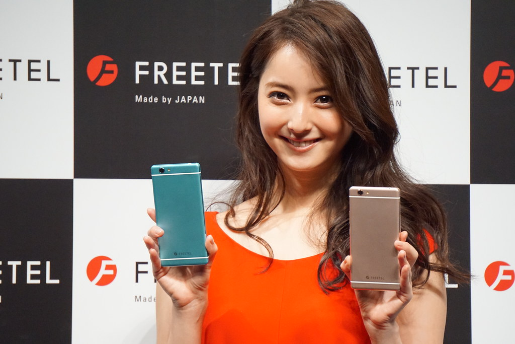 FREETEL、イメージキャラクターに佐々木希を起用