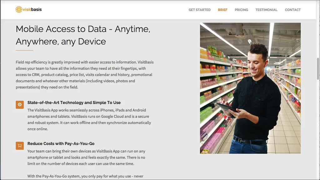 Merchandising software  Mobile data collection app  | Flickr
