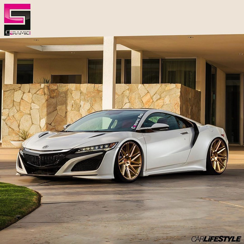 2017 Acura NSX Protected By @ceramicpro_official
