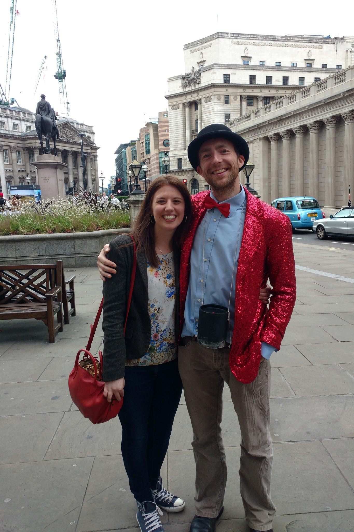 Emma and Reuben from Bullshit London