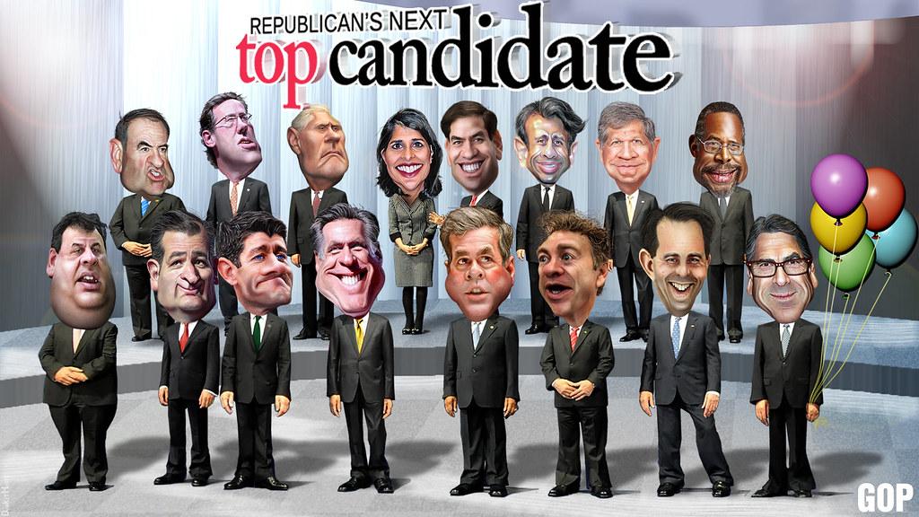 top 2 republican candidates 2016