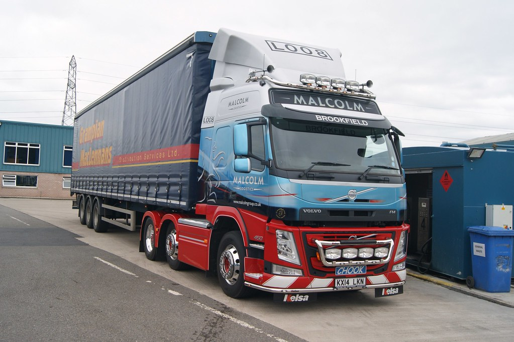 Malcolm Group Logistic Services Volvo FM 450 6 X 2 F/N L00… | Flickr