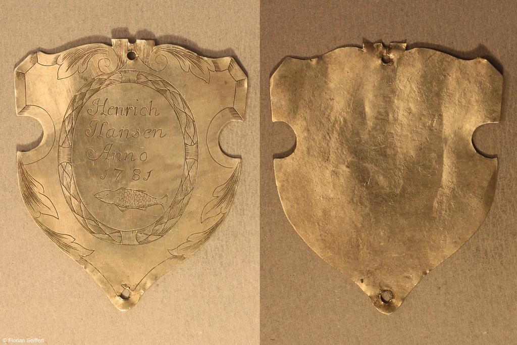 Koenigsschild Flittard von hansen henrich aus dem Jahr 1781