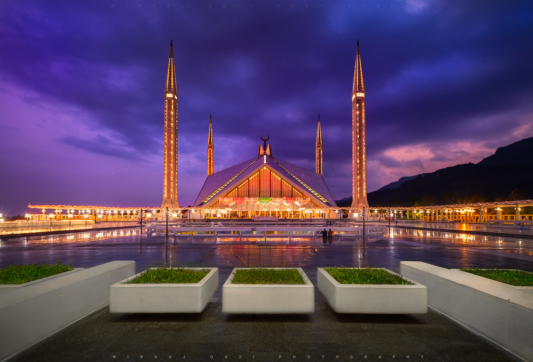 The Shah Faisal Mosque, Islamabad [1800x1223]
