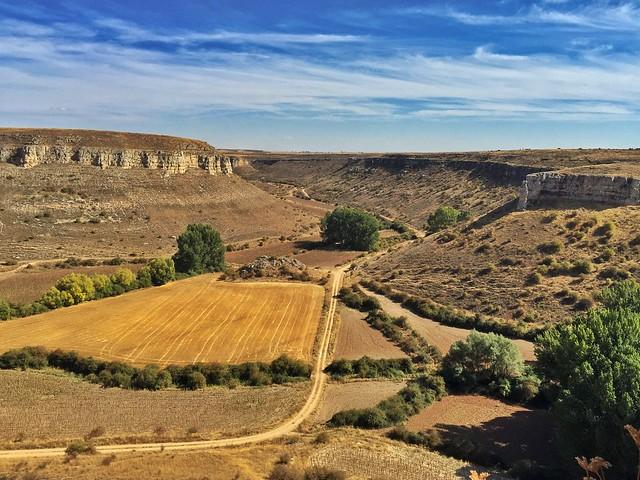 Paisaje en Tierras de Berlanga (Foto tomada en Rello, Soria)