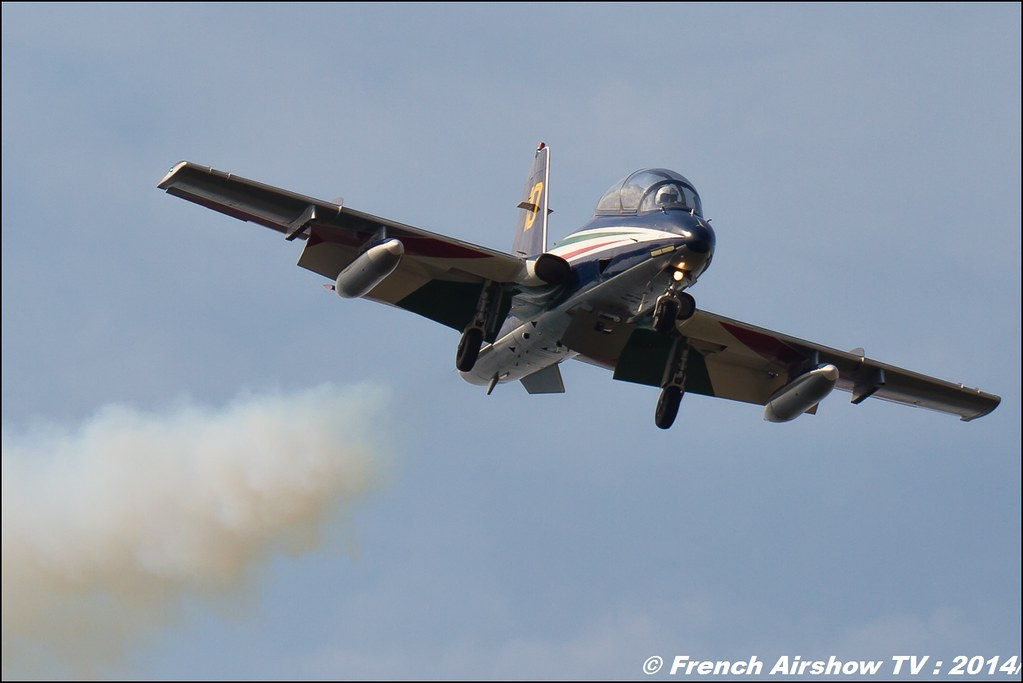 Frecce Tricolori AIR14 Payerne 2014 Canon Sigma France contemporary lens