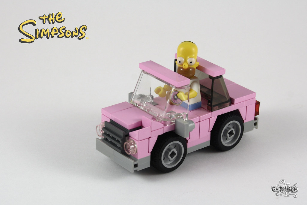 """Homer Car: Here Is My Second Entry For The """"Chibi"""