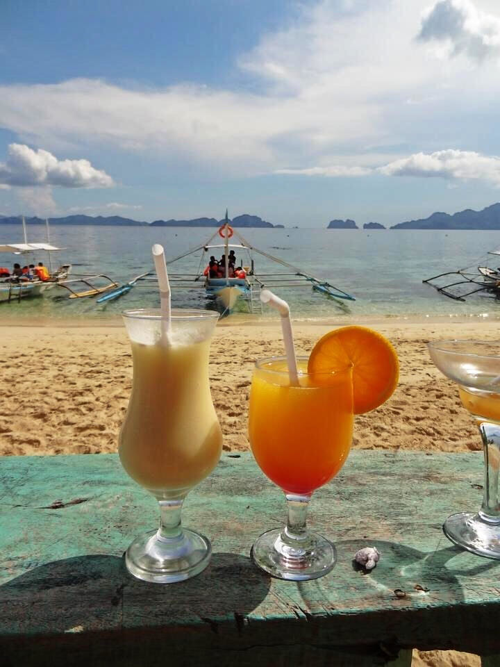 El Nido Drinks - Copyright Travelosio