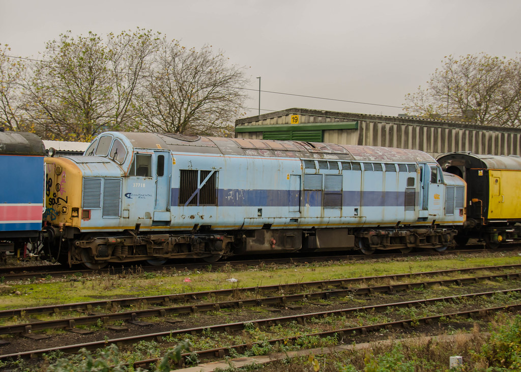 37718 Derby RTC | Direct Rail Services 37718 stored at ...