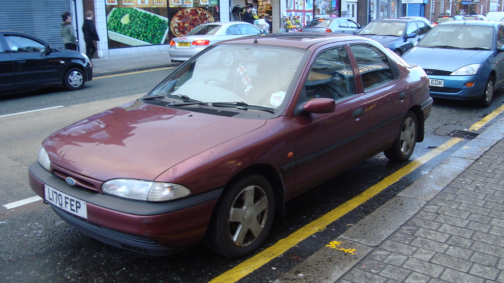 1993 ford mondeo 1 8 glx made my day seeing this i know p flickr. Black Bedroom Furniture Sets. Home Design Ideas