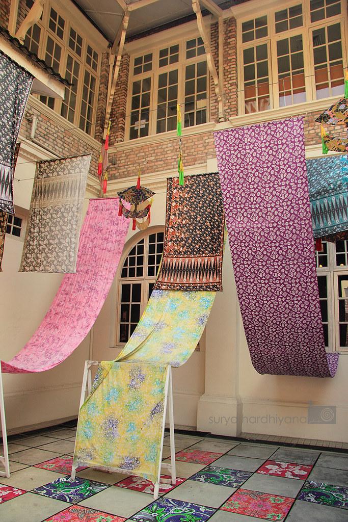 Kain Batik di Kuala Lumpur City Gallery