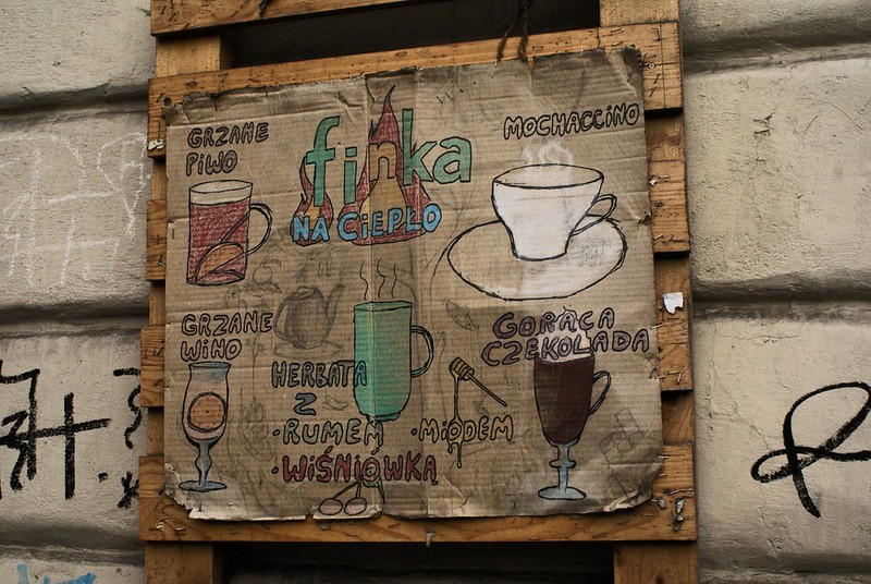 Bar Finka, recup et ambiance sympathique dans le quartier de Kazimierz à Cracovie.