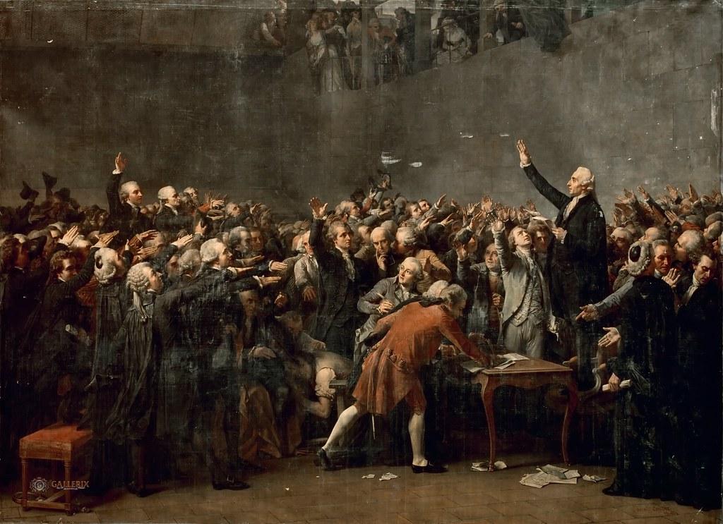 Auguste Couder Le Serment Du Jeu De Paume June 20 1789