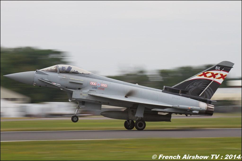 Eurofighter Typhoon Solo Display UK - United Kingdom - Royal Air Force , RIAT , Fairford , Royal International Air Tattoo 2014 , Meeting Aerien Air Tattoo , Meeting Aerien 2014