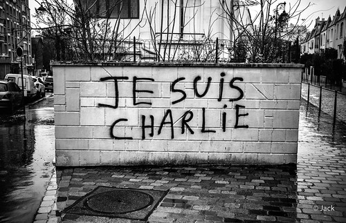 Hommage - Je suis Charlie #1