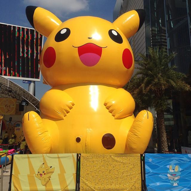 Quot โปเกม่อน Quot มารอพบเพื่อนๆแล้วนะ Pokemon Together Let S Flickr