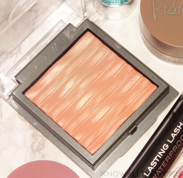 mirabella lighten up collection glowing coral highlighting powder (2)