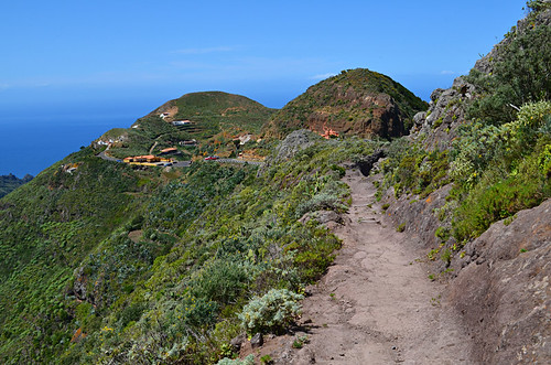 Route to Chinamada, Anaga, Tenerife