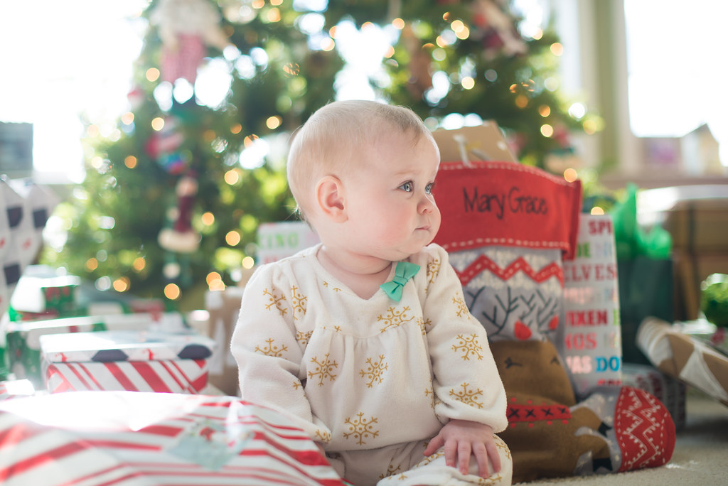 Baby's first Christmas should be special.