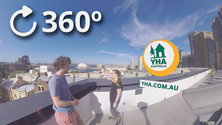 YHA Sydney Harbour tour 360 video