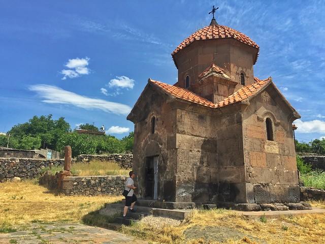 La iglesia más pequeña de Armenia