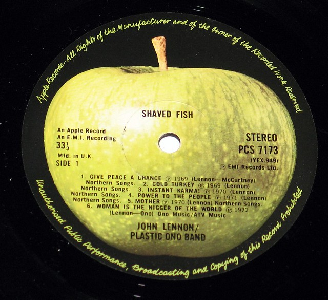 Shaved Fish Lennon Plastic Ono Band