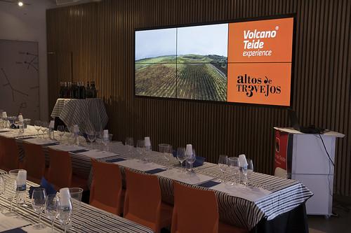 Cata de vinos en el Teide con Altos de Tr3vejos y Montesano - 11 de junio de 2016
