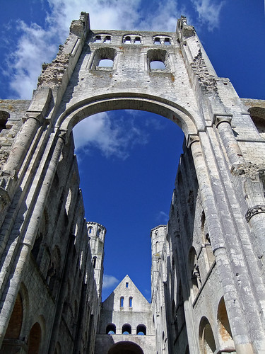 Jumieges Abbey Ruins, France