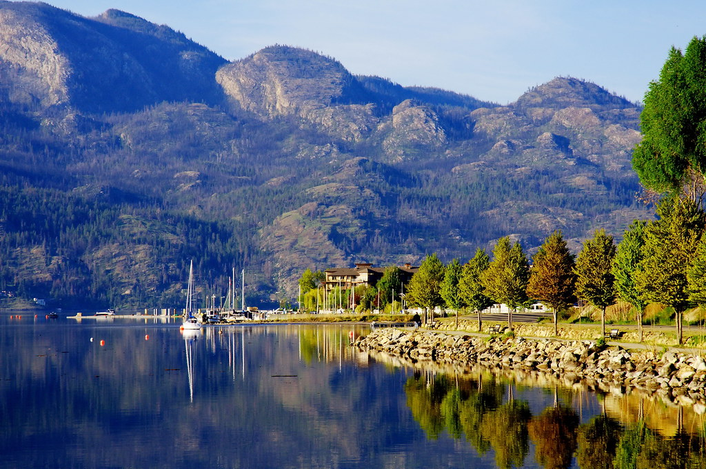 West Kelowna No One Is Ever Far From Access Into The