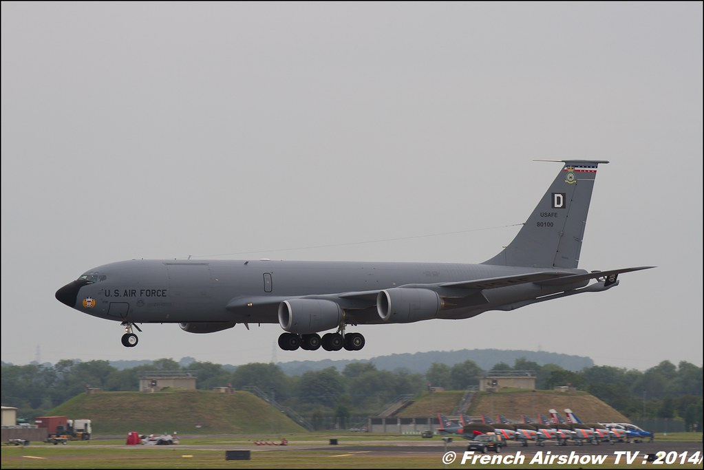 KC-135 USAF , RIAT 2014 , Fairford , Royal International Air Tattoo 2014 , Meeting Aerien Air Tattoo , Meeting Aerien 2014